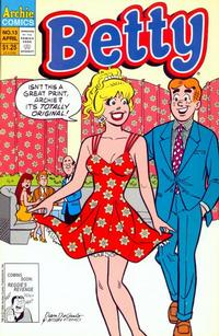 Cover Thumbnail for Betty (Archie, 1992 series) #13 [Direct]
