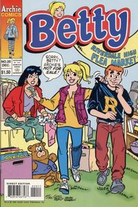 Cover Thumbnail for Betty (Archie, 1992 series) #20