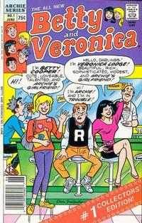 Cover Thumbnail for Betty and Veronica (Archie, 1987 series) #1 [Newsstand]