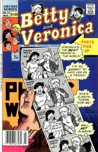 Cover Thumbnail for Betty and Veronica (Archie, 1987 series) #28 [Newsstand]