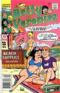 Cover Thumbnail for Betty and Veronica (Archie, 1987 series) #33 [Newsstand]