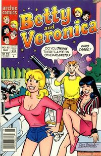 Cover for Betty and Veronica (Archie, 1987 series) #63