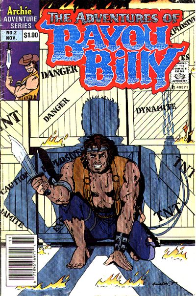 Cover for The Adventures of Bayou Billy (Archie, 1989 series) #2