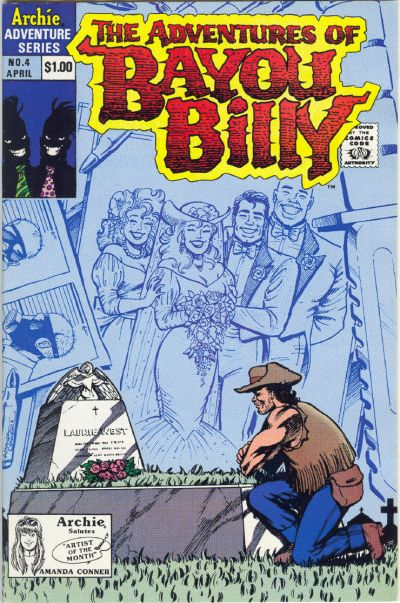 Cover for The Adventures of Bayou Billy (Archie, 1989 series) #4