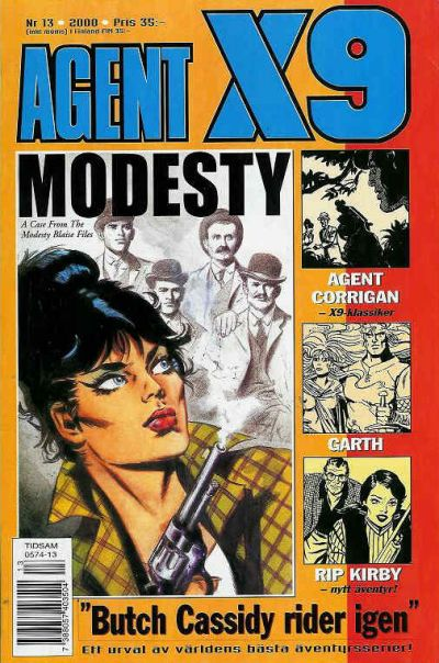 Cover for Agent X9 (Egmont, 1997 series) #13/2000