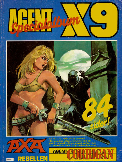 Cover for Agent X9 Specialalbum (Semic, 1985 series) #[1986]