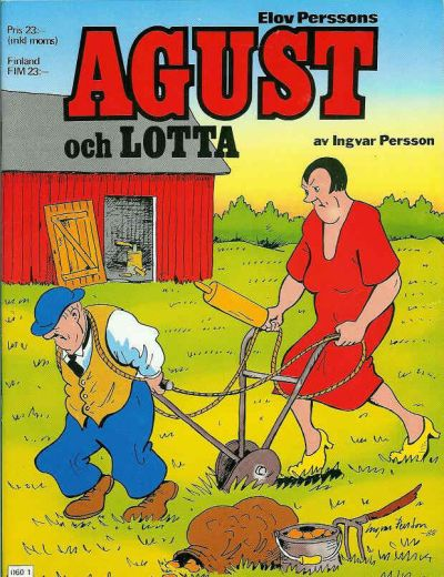Cover for Agust och Lotta [julalbum] (Semic, 1988 series) #[1988]