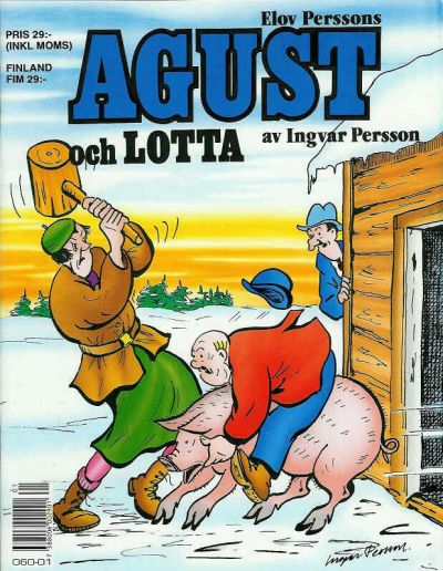 Cover for Agust och Lotta [julalbum] (Semic, 1988 series) #[1990]