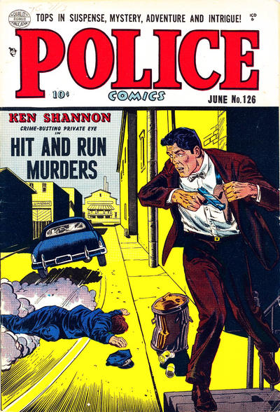 Cover for Police Comics (Quality Comics, 1941 series) #126