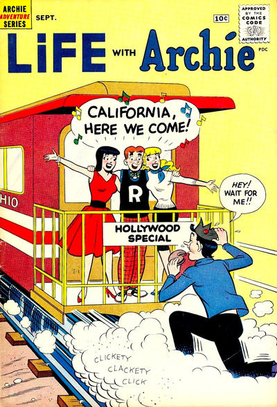 Cover for Life with Archie (Archie, 1958 series) #4