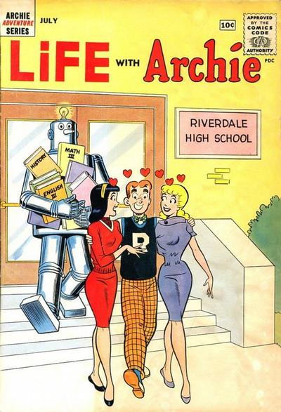 Cover for Life with Archie (Archie, 1958 series) #9