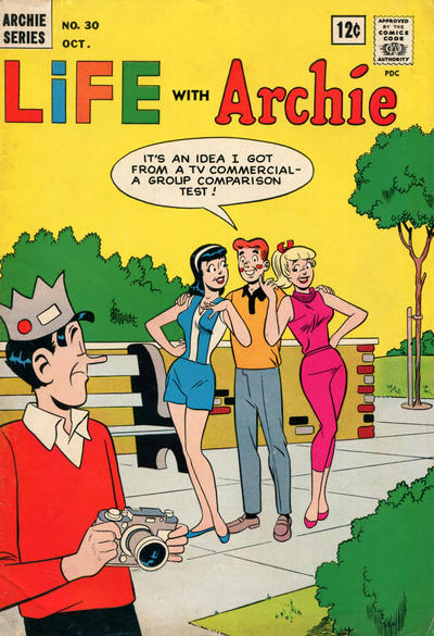 Cover for Life with Archie (Archie, 1958 series) #30