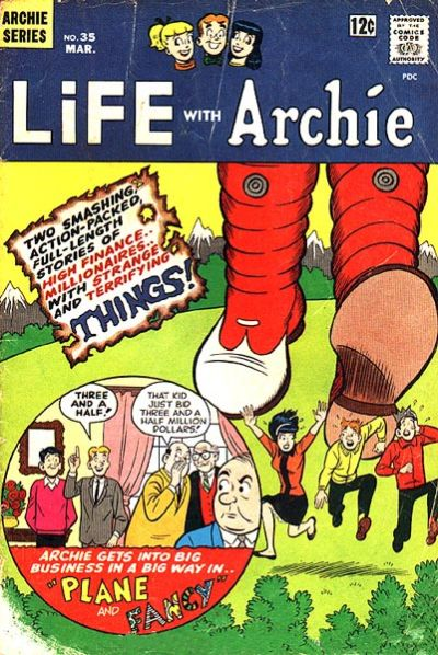 Cover for Life with Archie (Archie, 1958 series) #35