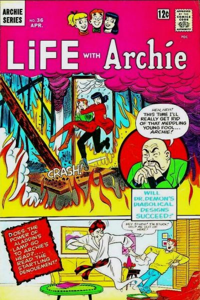 Cover for Life with Archie (Archie, 1958 series) #36