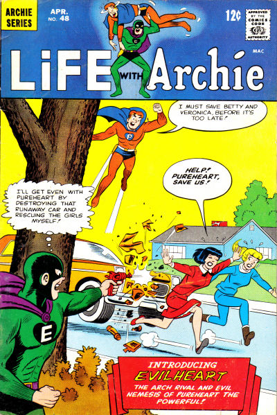 Cover for Life with Archie (Archie, 1958 series) #48