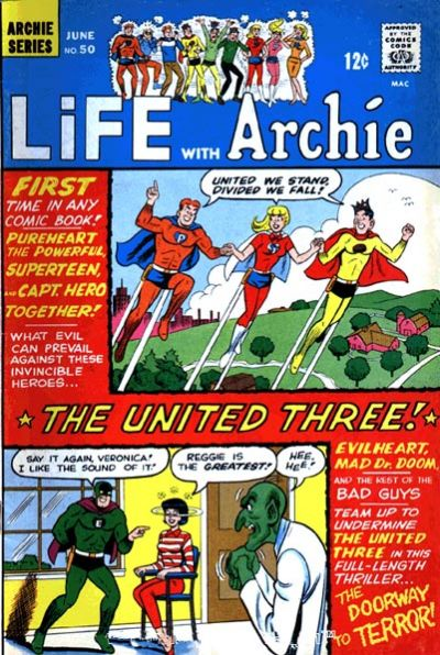 Cover for Life with Archie (Archie, 1958 series) #50