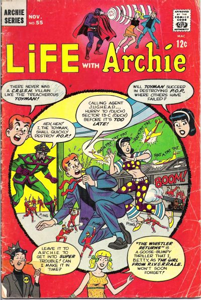 Cover for Life with Archie (Archie, 1958 series) #55