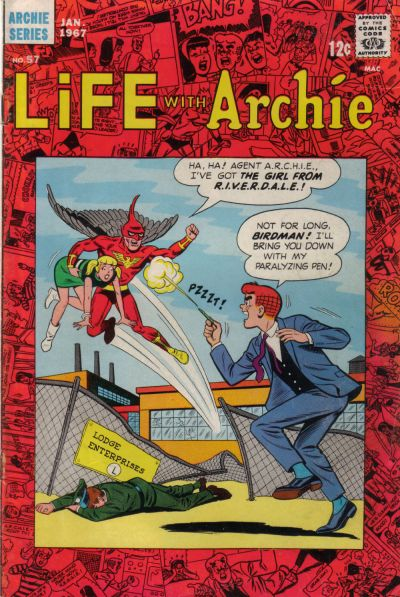 Cover for Life with Archie (Archie, 1958 series) #57