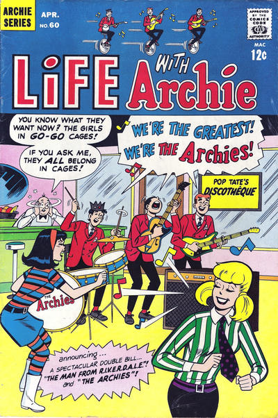 Cover for Life with Archie (Archie, 1958 series) #60