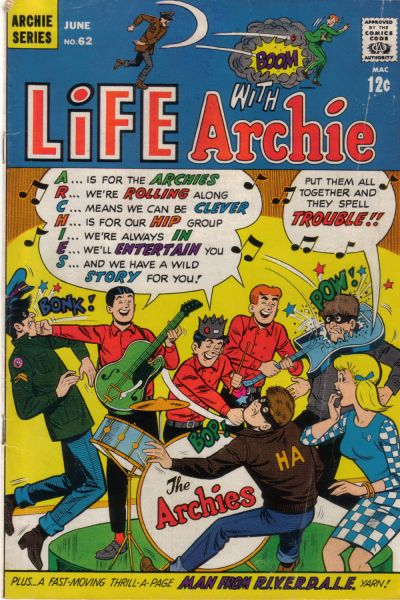 Cover for Life with Archie (Archie, 1958 series) #62