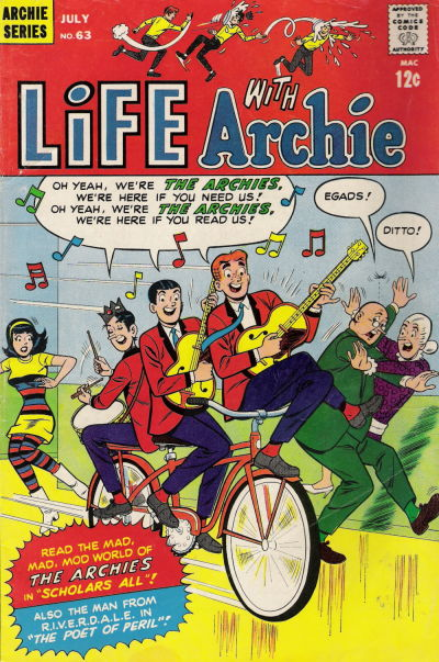 Cover for Life with Archie (Archie, 1958 series) #63