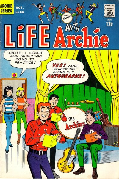 Cover for Life with Archie (Archie, 1958 series) #66