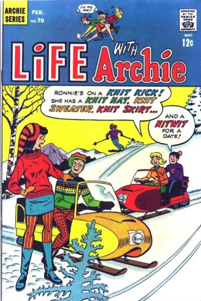 Cover for Life with Archie (Archie, 1958 series) #70