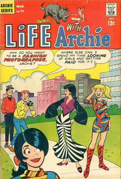 Cover for Life with Archie (Archie, 1958 series) #71