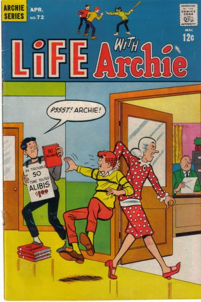Cover for Life with Archie (Archie, 1958 series) #72