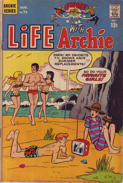 Cover for Life with Archie (Archie, 1958 series) #76