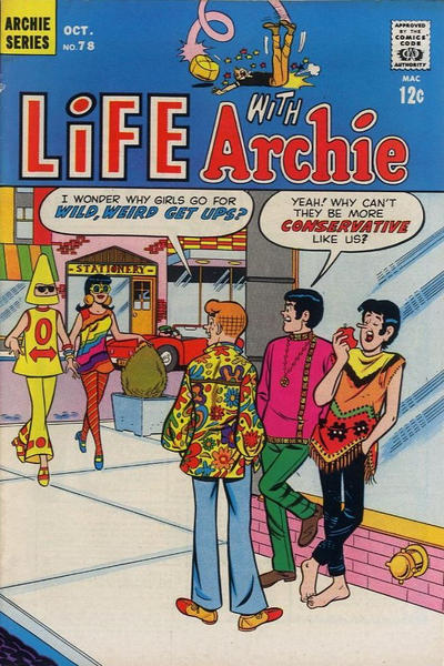 Cover for Life with Archie (Archie, 1958 series) #78