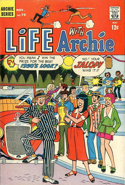 Cover for Life with Archie (Archie, 1958 series) #79