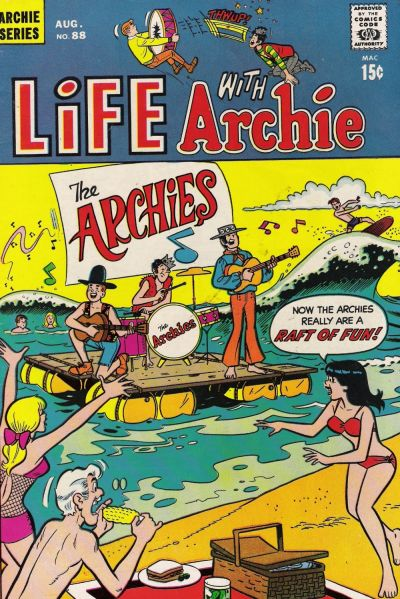 Cover for Life with Archie (Archie, 1958 series) #88