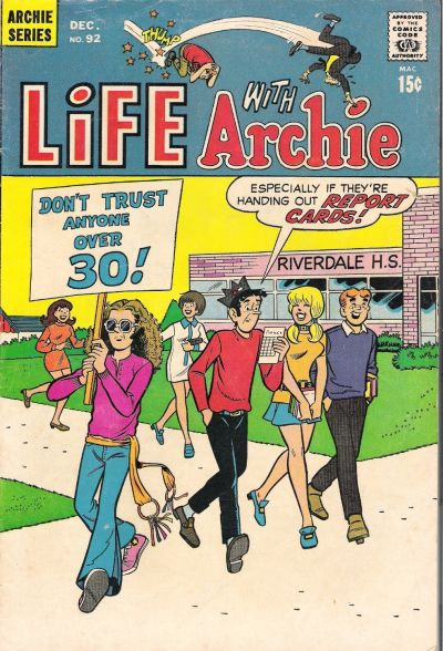 Cover for Life with Archie (Archie, 1958 series) #92