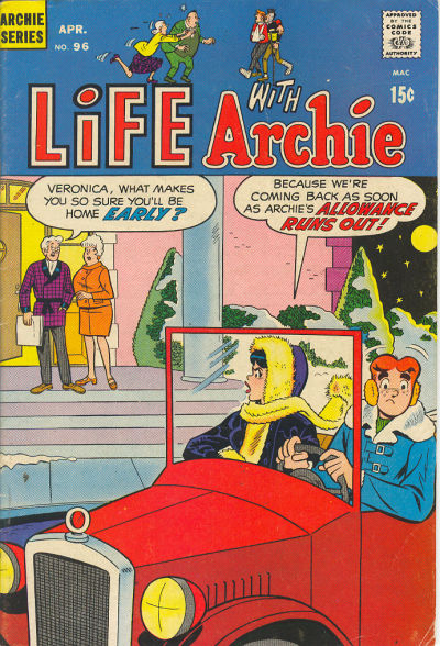Cover for Life with Archie (Archie, 1958 series) #96