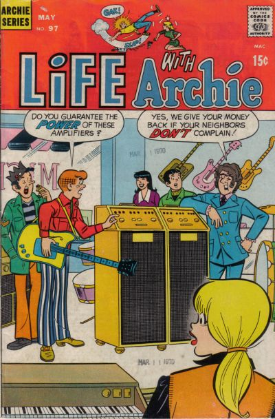 Cover for Life with Archie (Archie, 1958 series) #97