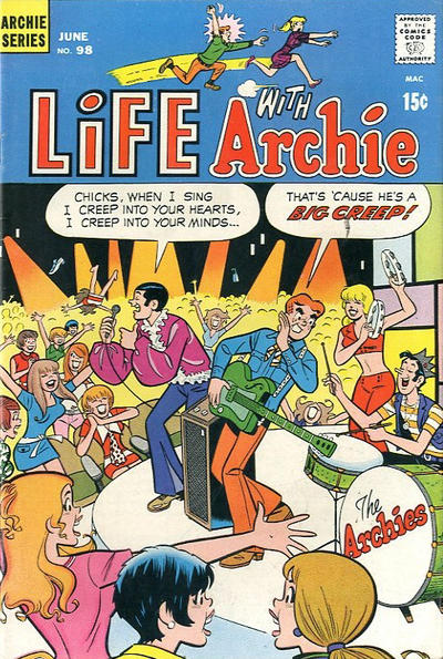 Cover for Life with Archie (Archie, 1958 series) #98