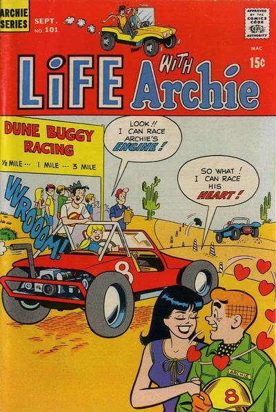 Cover for Life with Archie (Archie, 1958 series) #101