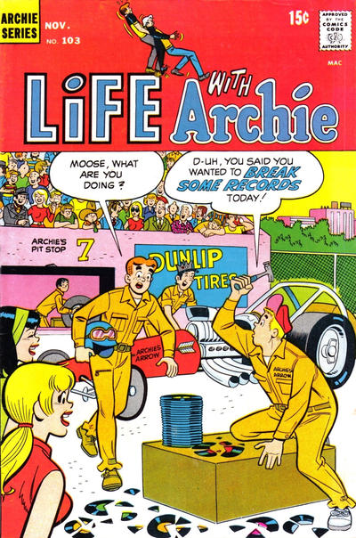 Cover for Life with Archie (Archie, 1958 series) #103