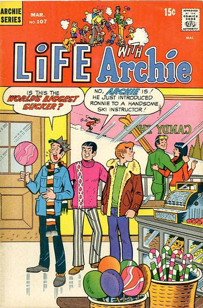Cover for Life with Archie (Archie, 1958 series) #107
