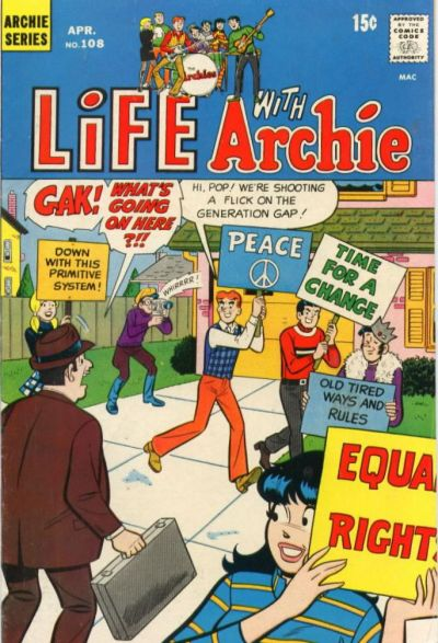 Cover for Life with Archie (Archie, 1958 series) #108