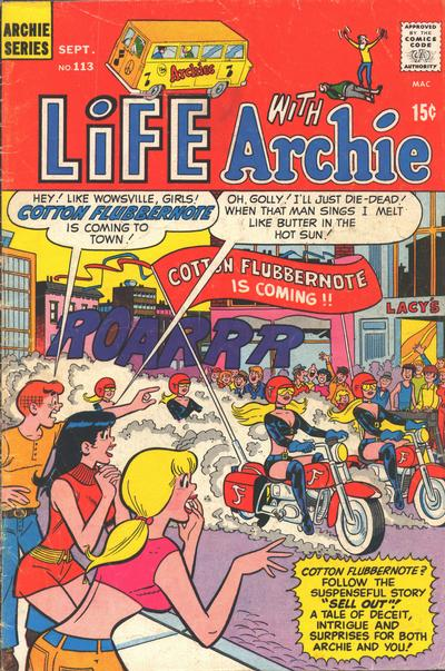 Cover for Life with Archie (Archie, 1958 series) #113