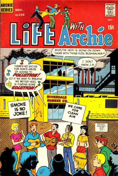 Cover for Life with Archie (Archie, 1958 series) #115