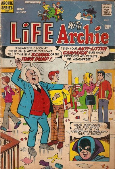 Cover for Life with Archie (Archie, 1958 series) #122