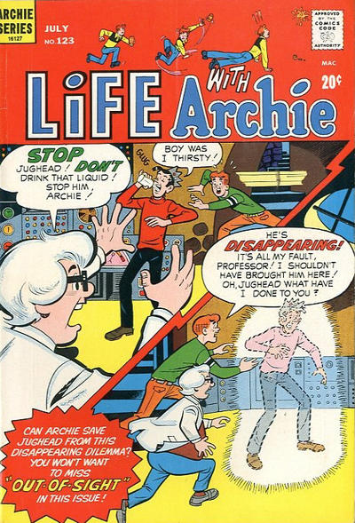 Cover for Life with Archie (Archie, 1958 series) #123