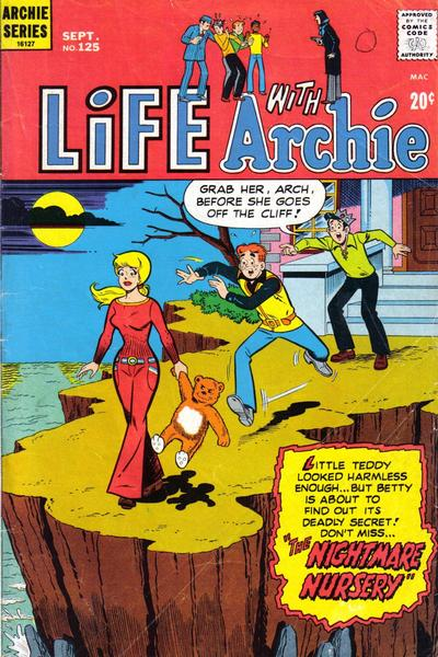Cover for Life with Archie (Archie, 1958 series) #125