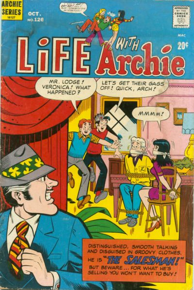 Cover for Life with Archie (Archie, 1958 series) #126
