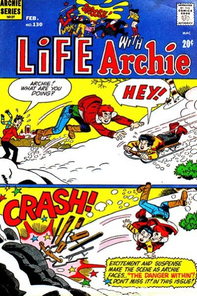 Cover for Life with Archie (Archie, 1958 series) #130