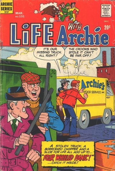 Cover for Life with Archie (Archie, 1958 series) #131