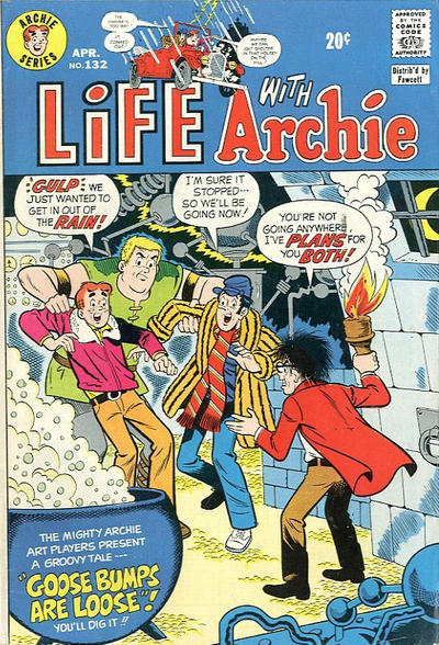 Cover for Life with Archie (Archie, 1958 series) #132